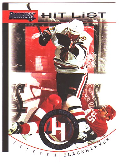 1996-97 Donruss Hit List #4 Jeremy Roenick