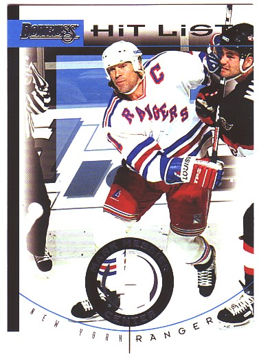 1996-97 Donruss Hit List #8 Mark Messier
