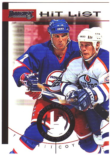 1996-97 Donruss Hit List #10 Keith Tkachuk