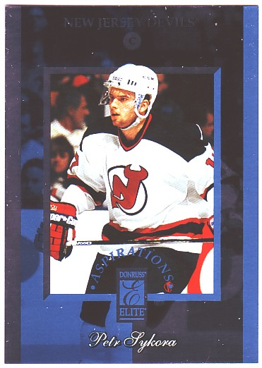 1996-97 Donruss Elite Aspirations #3 Petr Sykora