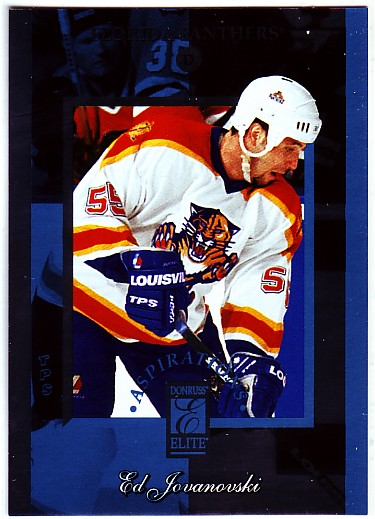 1996-97 Donruss Elite Aspirations #6 Ed Jovanovski