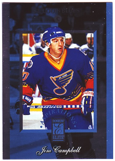 1996-97 Donruss Elite Aspirations #7 Jim Campbell