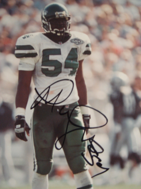 Marvin Jones Autographed 8 x 10 Jets Picture with Coa