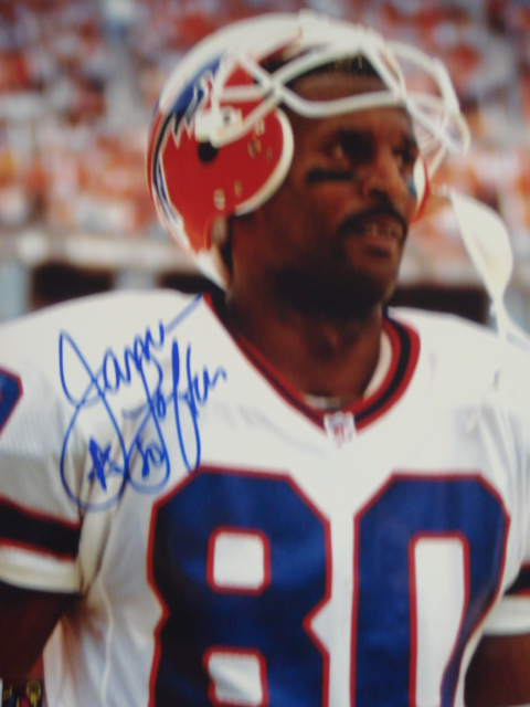James Lofton Autographed 8 x 10 Bills Picture with Coa