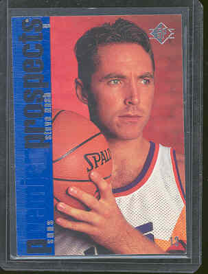 1996 SP #142 Steve Nash Phoenix Suns Two Time MVP Rookie Card Mint Condtion