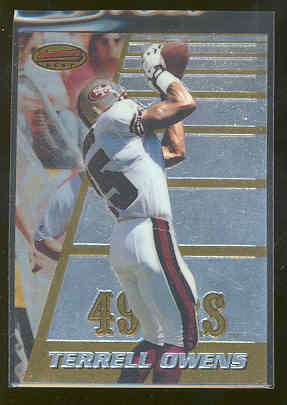 1996 Bowman's Best #147 Terrell Owens Dallas Cowboys Rookie