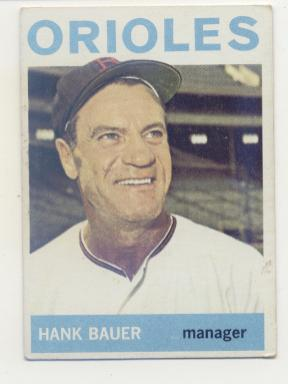 1964 Topps #178 Hank Bauer MG