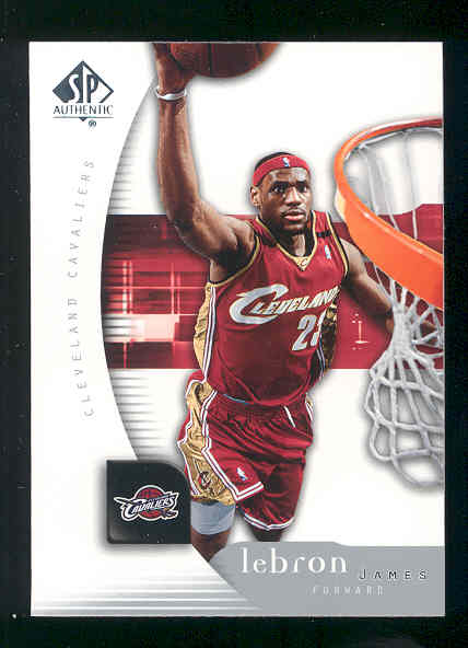2005-06 SP Authentic #14 LeBron James