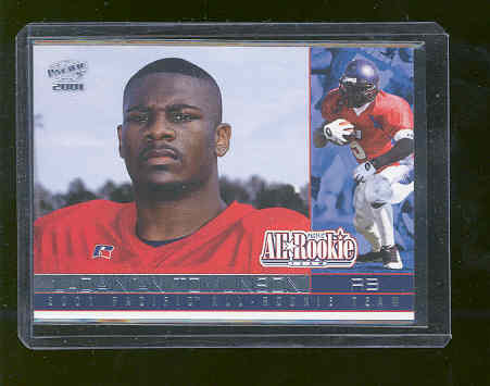 2001 Pacific All Rookie Team #7 LaDainian Tomlinson Rookie RC SanDiego Chargers