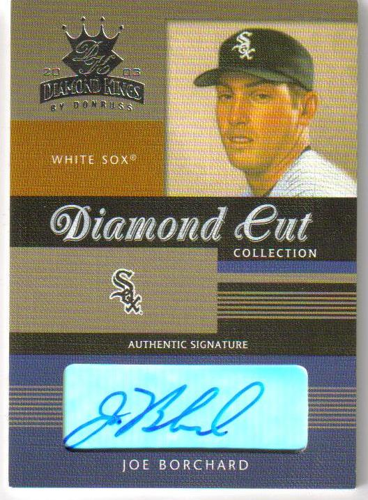 2003 Diamond Kings Diamond Cut Collection #4 Joe Borchard AU/150