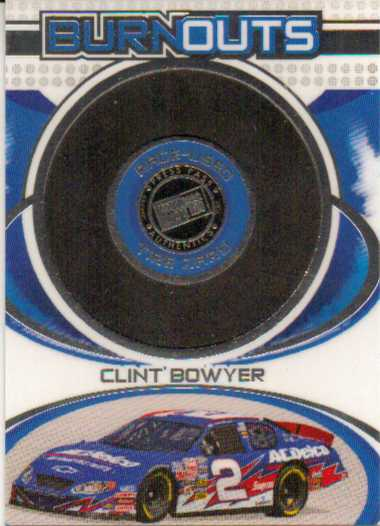 2006 Press Pass Burnouts #HT8 Clint Bowyer
