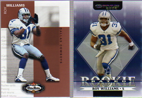 2002 Donruss #297 Roy Williams RC