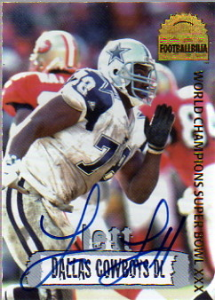 1996 Collector's Edge Cowboybilia Autographs #DCA16 Leon Lett/4000