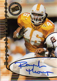 2000 Press Pass Autographs #47 Raynoch Thompson
