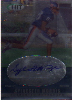 2000 SAGE HIT Autographs Diamond #24 Sylvester Morris