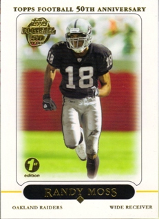2005 Topps First Edition #278 Randy Moss