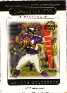 2005 Topps First Edition #312 Daunte Culpepper LL