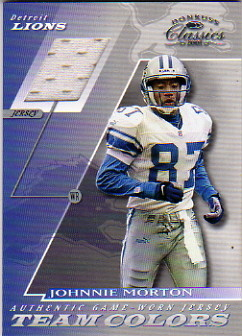 2001 Donruss Classics Team Colors #TC42 Johnnie Morton