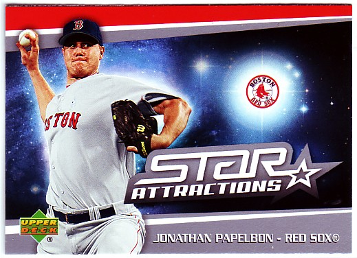 2006 Upper Deck Star Attractions #PA Jonathan Papelbon UPD