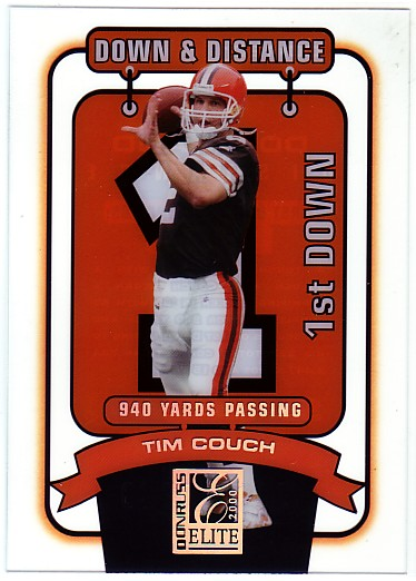 2000 Donruss Elite Down and Distance #12D1 Tim Couch/940