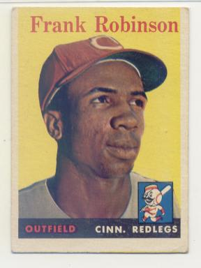 1958 Topps #285 Frank Robinson