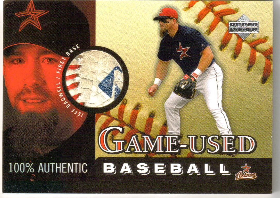 2000 Upper Deck Game Ball #BJB Jeff Bagwell
