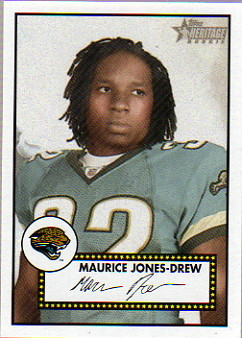 2006 Topps Heritage #183 Maurice Drew RC