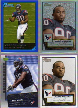 2006 Topps Heritage Chrome Refractors #THC100 Mario Williams