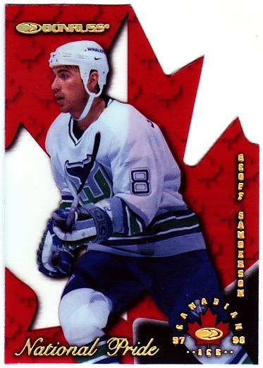 1997-98 Donruss Canadian Ice National Pride #14 Geoff Sanderson