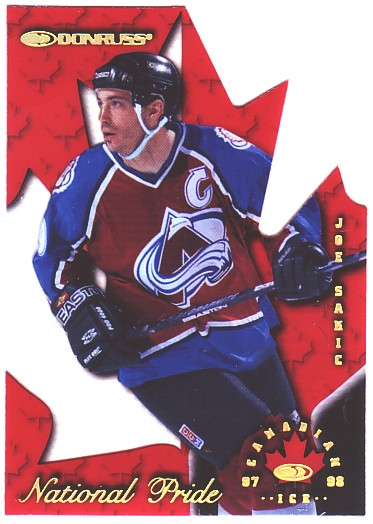 1997-98 Donruss Canadian Ice National Pride #17 Joe Sakic