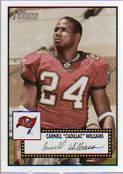 2006 Topps Heritage #315 Cadillac Williams SP
