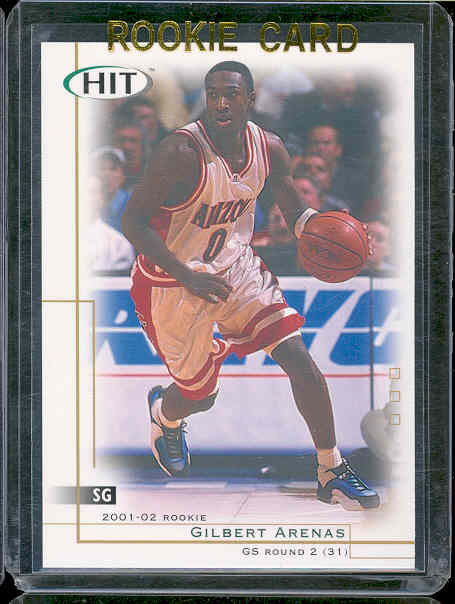 2001 SAGE HIT #30 Gilbert Arenas