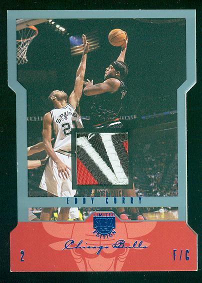 2004-05 SkyBox LE Jersey Proofs Patches 15 #10 Eddy Curry