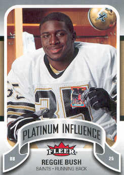 2006-07 Fleer Jordan's Platinum Influence #BU Reggie Bush