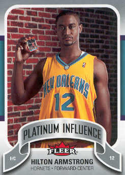 2006-07 Fleer Jordan's Platinum Influence #HA Hilton Armstrong