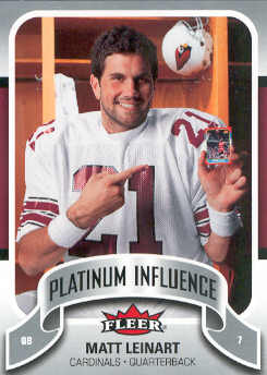 2006-07 Fleer Jordan's Platinum Influence #ML Matt Leinart