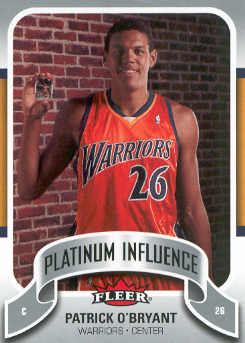 2006-07 Fleer Jordan's Platinum Influence #PO Patrick O'Bryant