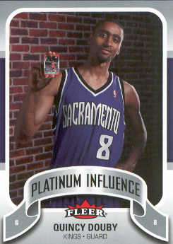 2006-07 Fleer Jordan's Platinum Influence #QD Quincy Douby
