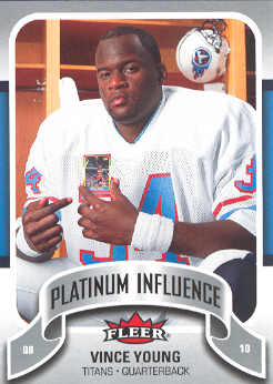 2006-07 Fleer Jordan's Platinum Influence #VY Vince Young