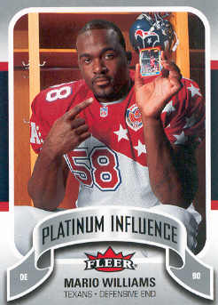 2006-07 Fleer Jordan's Platinum Influence #WI Mario Williams