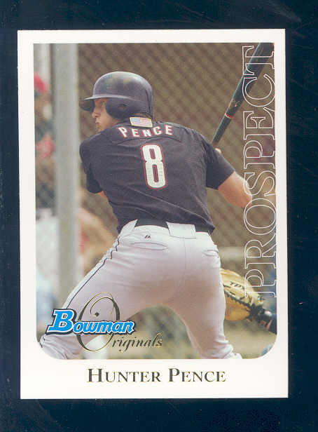 2006 Bowman Originals Prospects #24 Hunter Pence