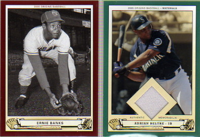 2005 Origins Red #102 Ernie Banks RET