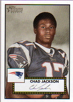 2006 Topps Heritage #109 Chad Jackson SP RC