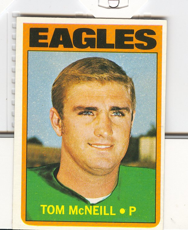 1972 Topps #314 Tom McNeill RC