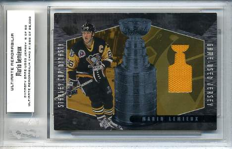 2000-01 BAP Ultimate Memorabilia Dynasty Jerseys #D6 Mario Lemieux