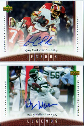 2006 Upper Deck Legends Legendary Signatures #48 Gary Clark