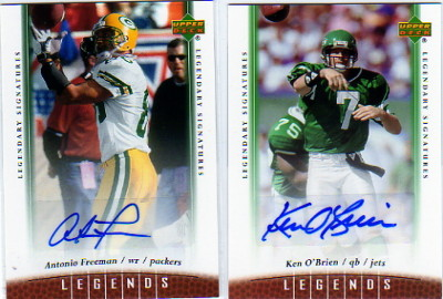 2006 Upper Deck Legends Legendary Signatures #36 Ken O'Brien