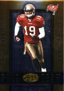2002 Leaf Certified Gold Team #GT16 Keyshawn Johnson