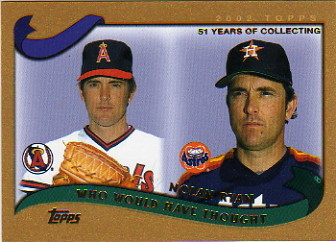 2002 Topps Traded Gold #T266 Nolan Ryan WW