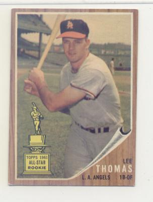 1962 Topps #154 Lee Thomas